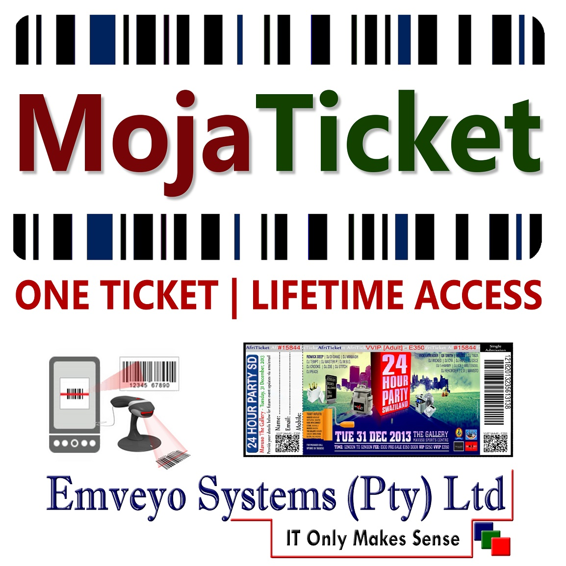 MojaTicket Emveyo Product