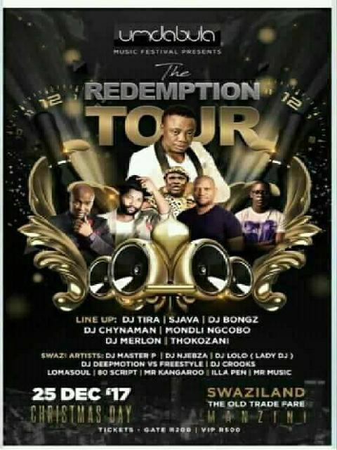 Umdabula Festival The Redemption Tour