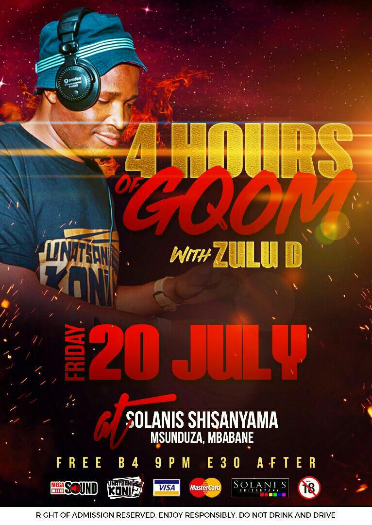 4 Hours Of Gqom With Zulu D