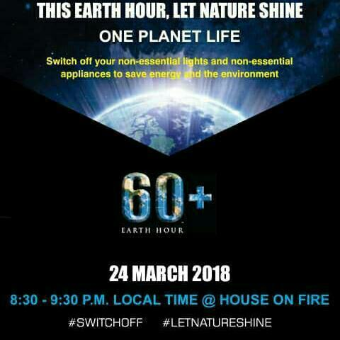60 Plus Earth Hour