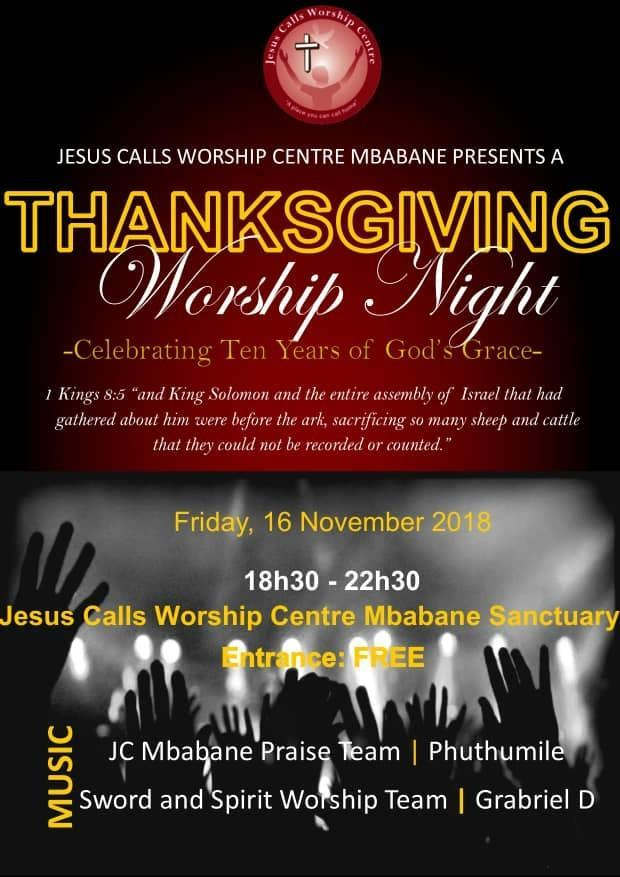 A Thanks Giving Worship Night