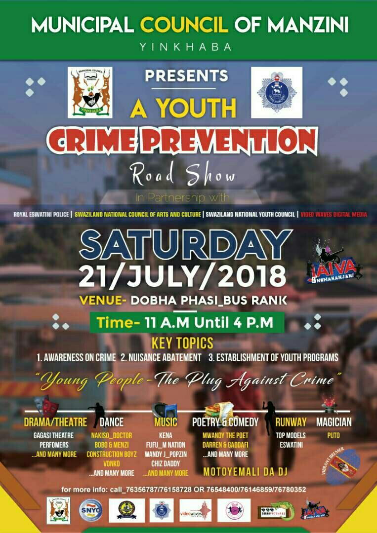 A Youth Crime Prevention Roadshow