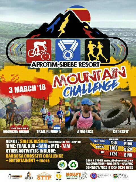 Afrotim-Sibebe Resort Mountain Challenge