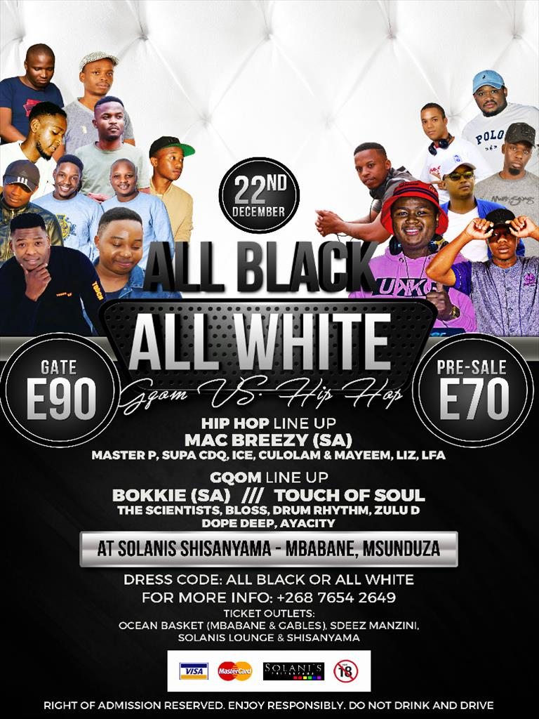 All Black All White - Gqom Vs HipHop