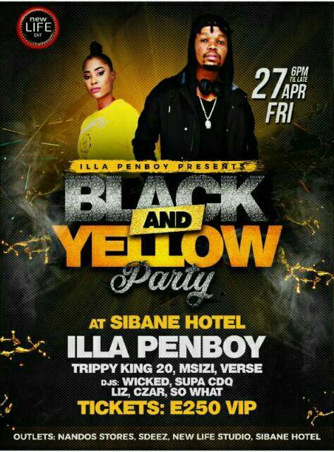 Black And Yellow Party