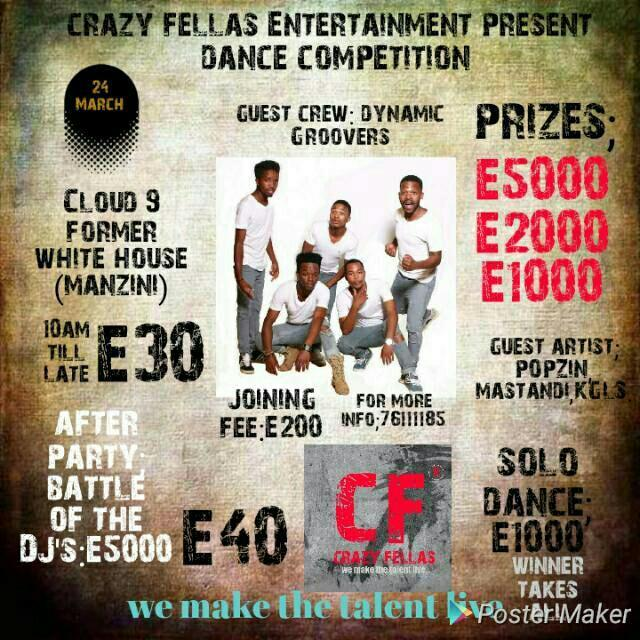 Crazy Fellas Dance Competition