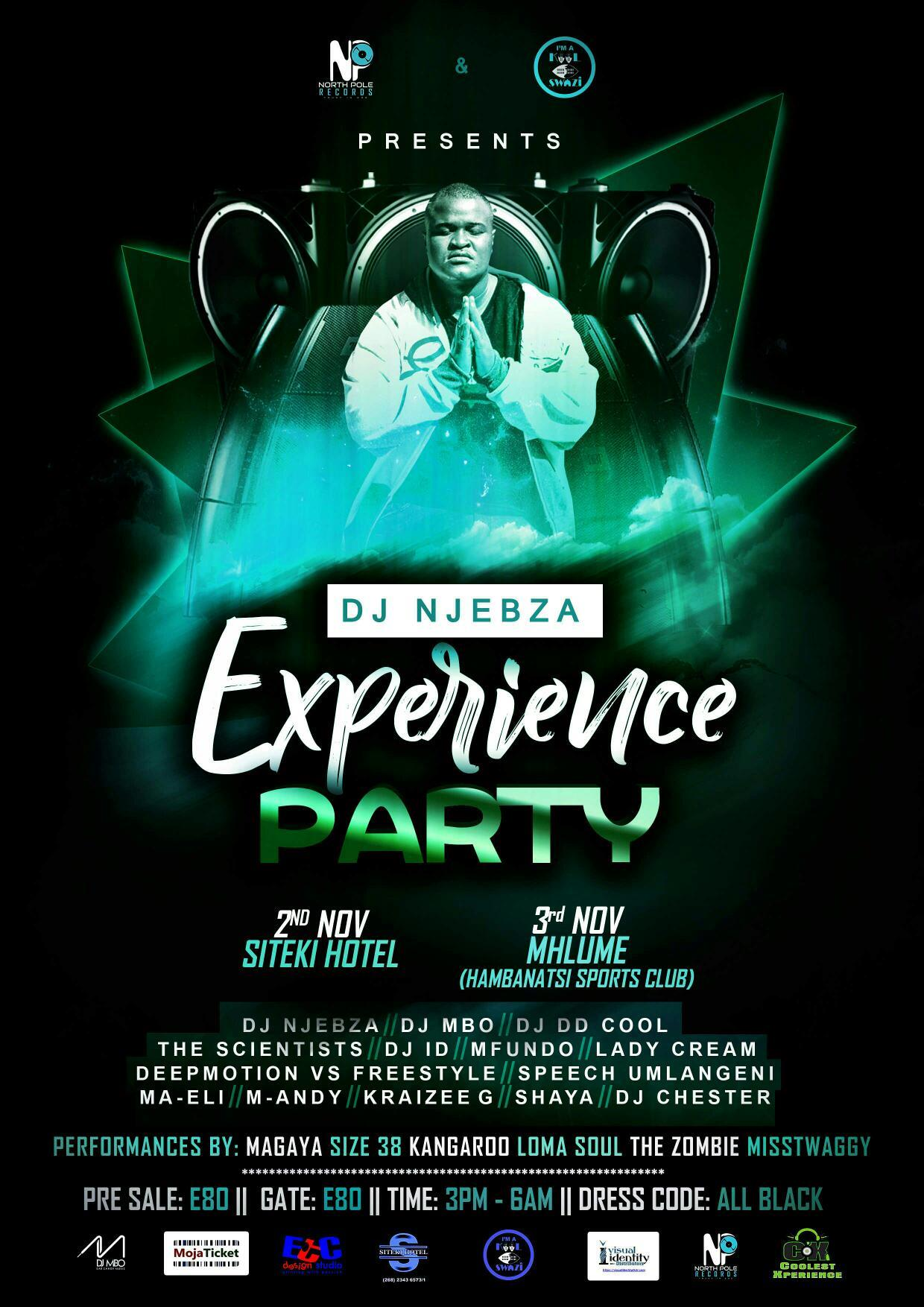 DJ Njebza Experience Party