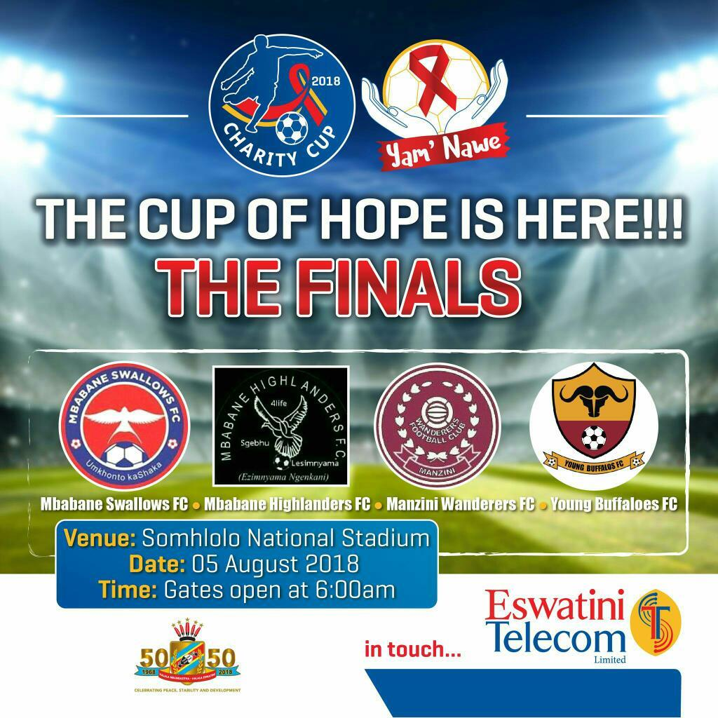 EswatiniTelecom Charity Cup 2018 Finals