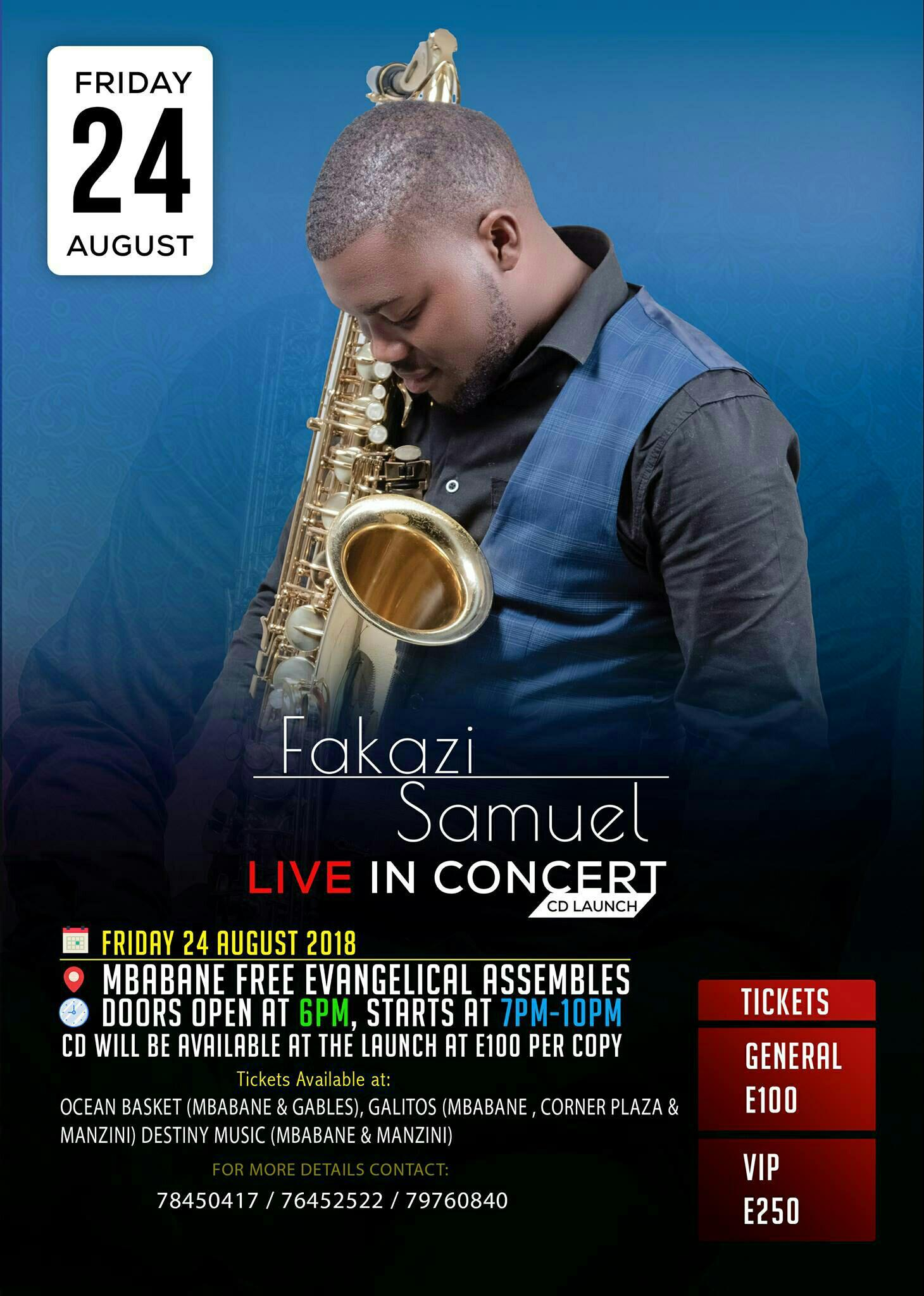 Fakazi Samuel CD Launch Live