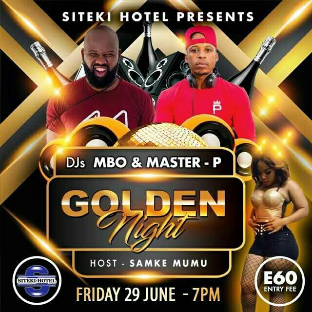 Golden Night With DJ Mbo And Master-P