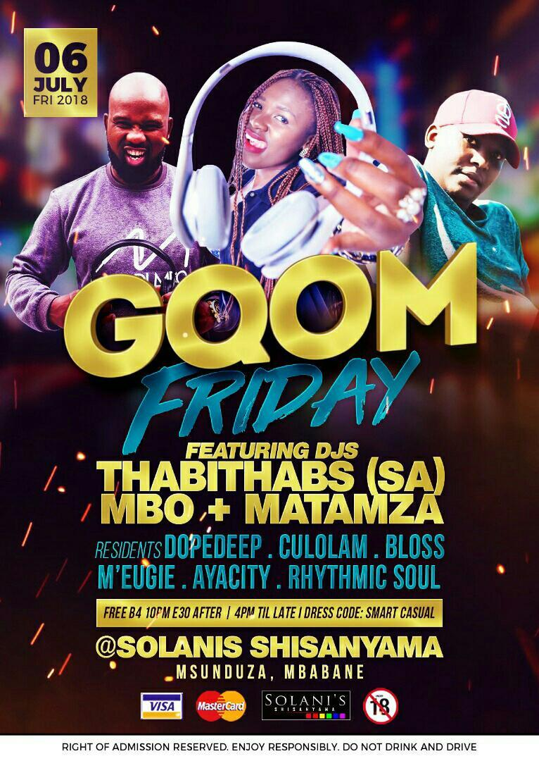 Gqom Fridays Ft DJ Thabithabs