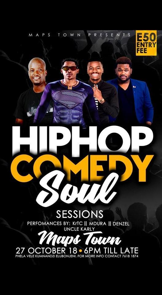 HipHop Comedy Soul Sessions