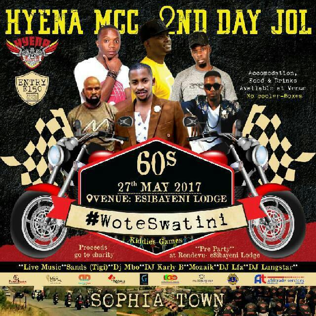 Hyena MCC 2nd Day Jol