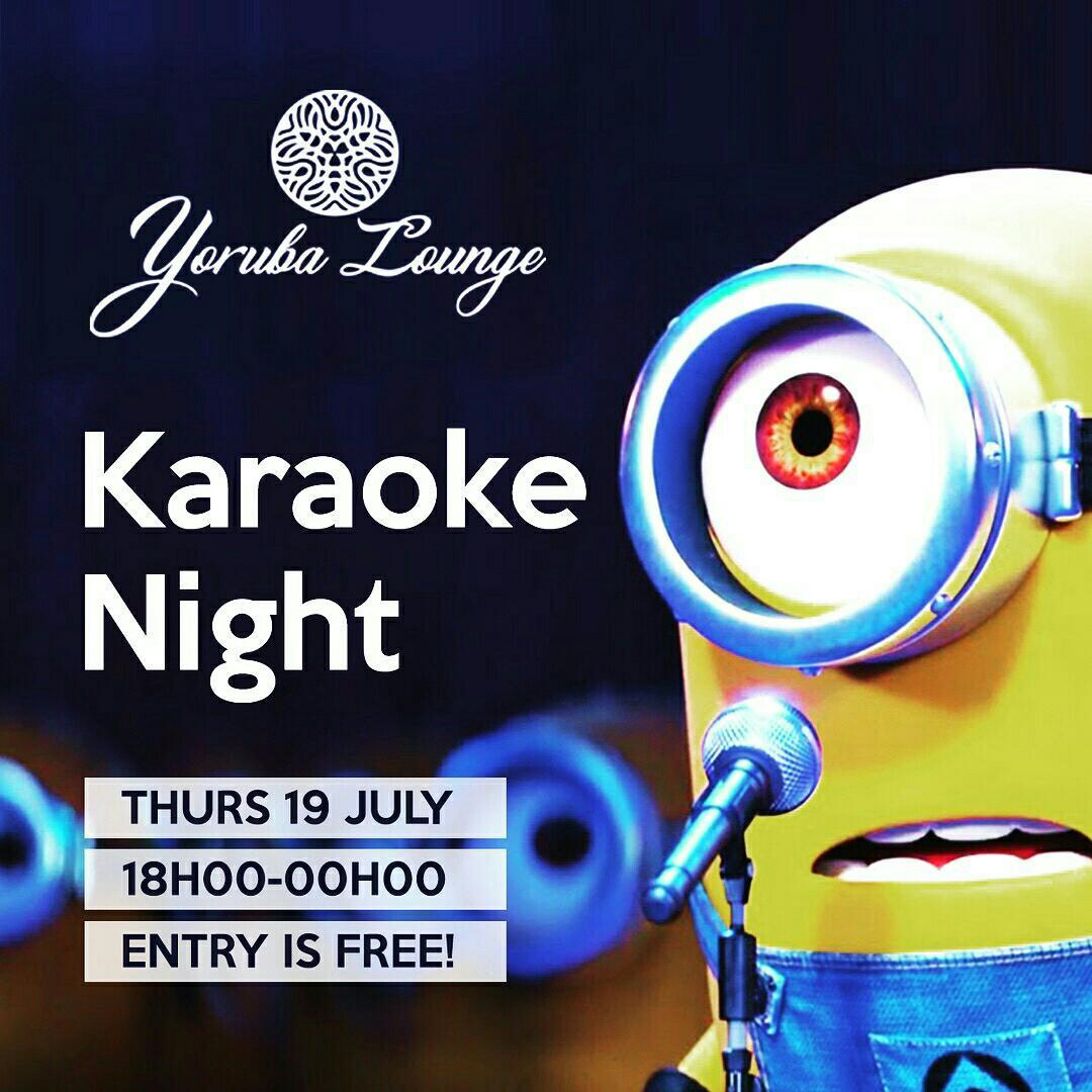 Karaoke Night At Yoruba Lounge