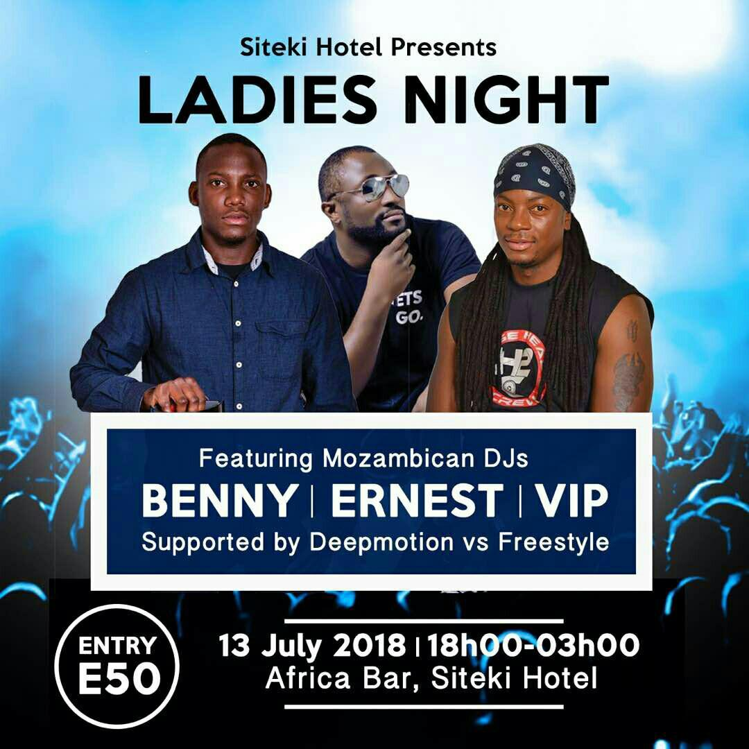 Ladies Night Ft Mozambican DJs