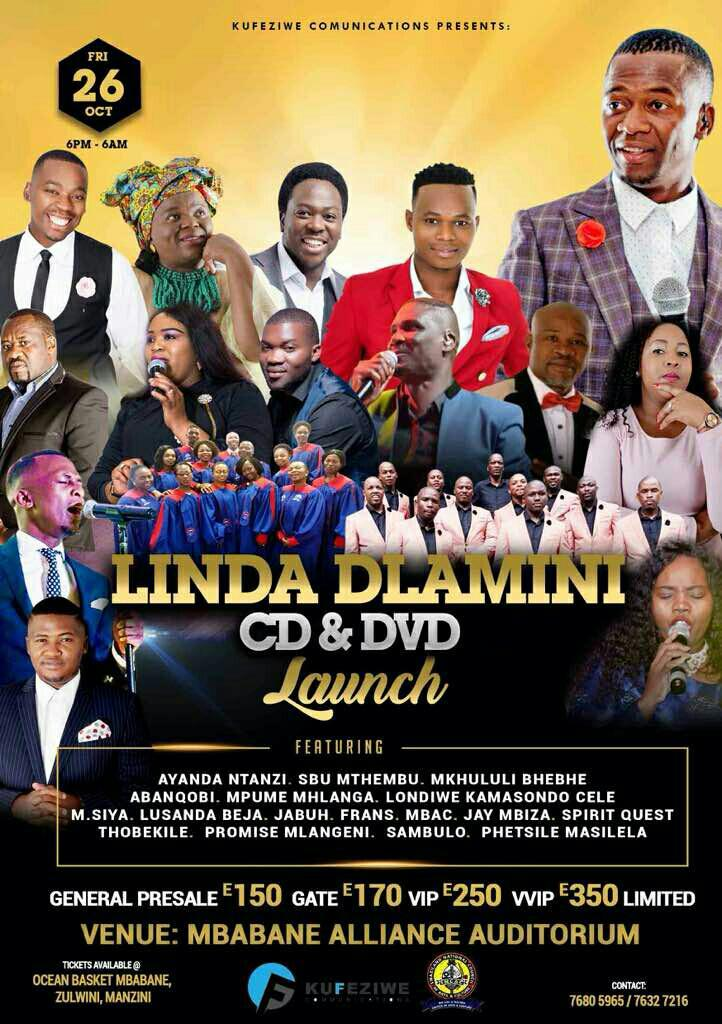 Linda Dlamini CD And DVD Launch