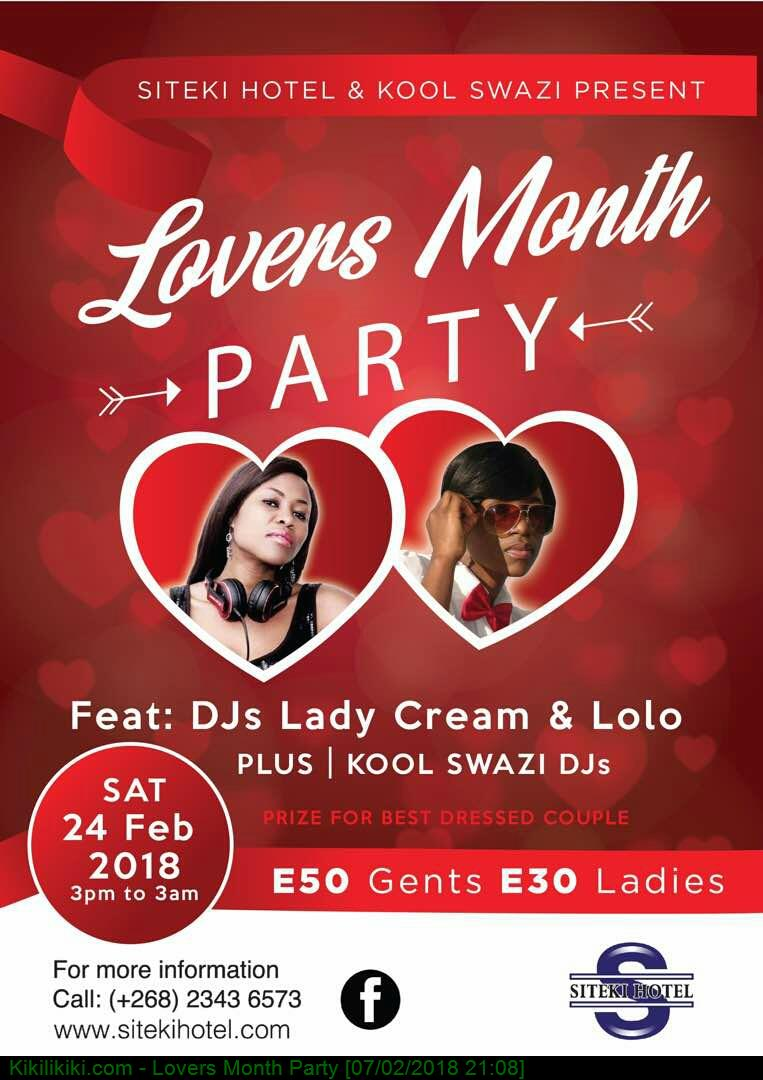 Lovers Month Party
