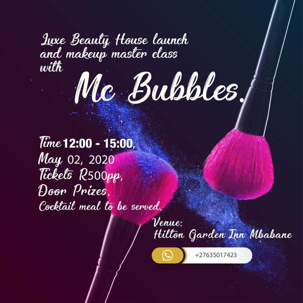 Luxe Beauty House Launch And Master Class With Mc Bubbles Pic