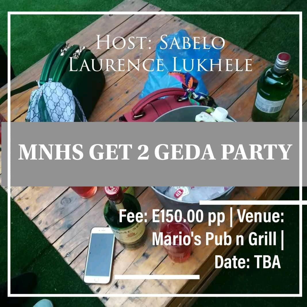 MNHS Get 2 Geda Party Pic