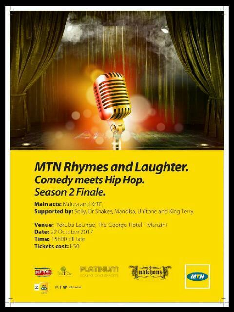 MTNRhymes And Laughter - Comedy Meets HipHop 2
