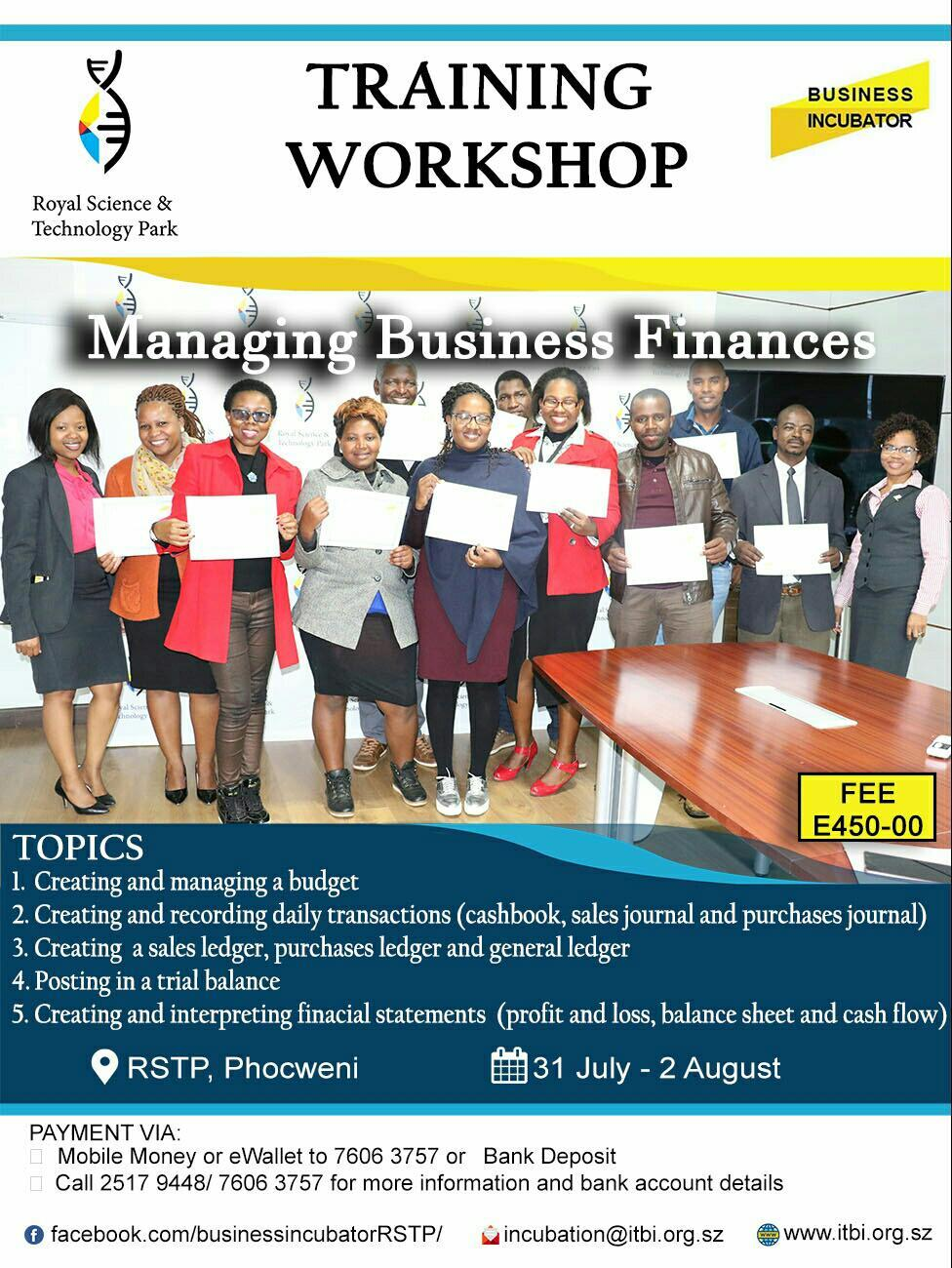 Managing Business Finances