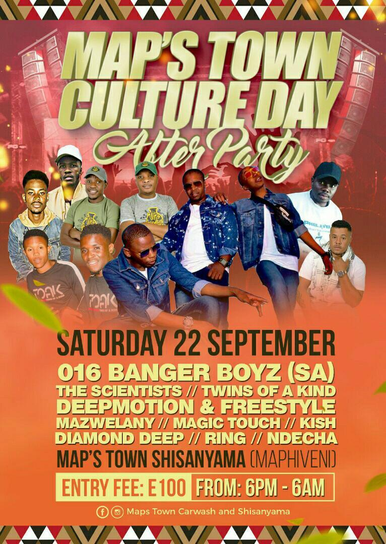 Maps Town Culture Day After Party