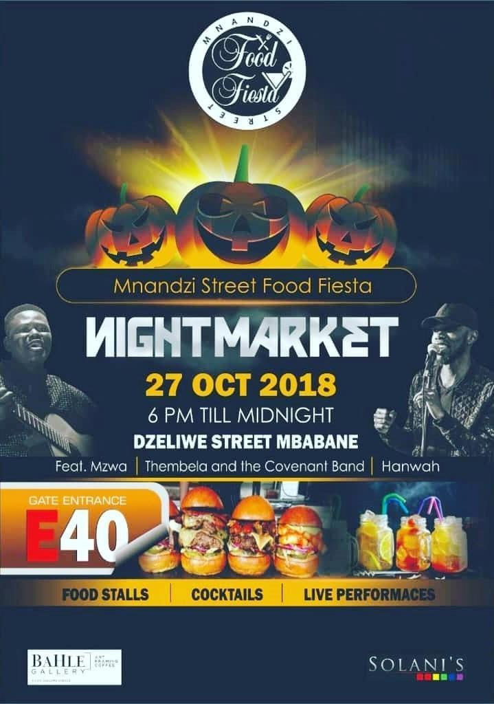 Mnandzi Street Food Fiesta Night Market