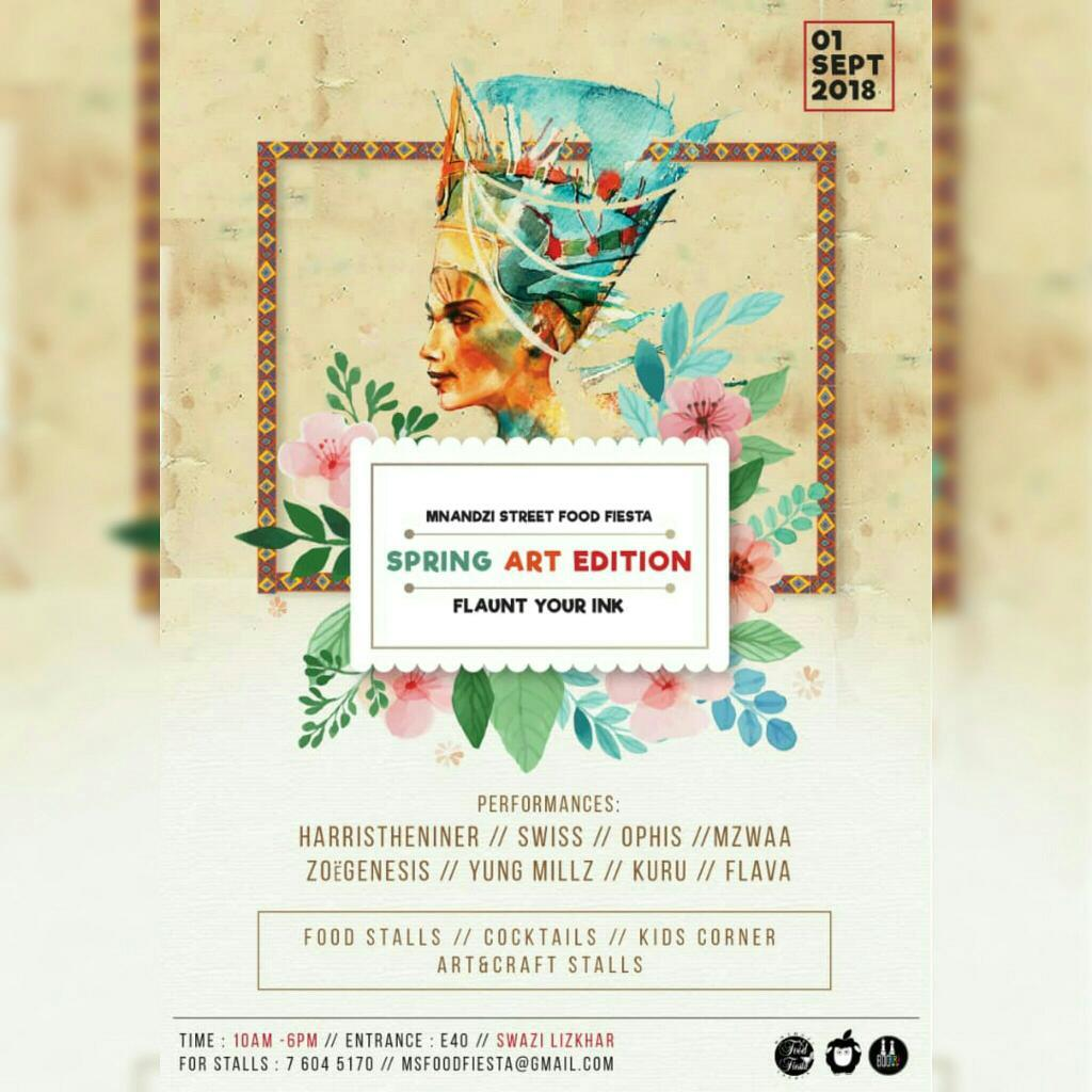 Mnandzi Street Food Fiesta Spring Art Edition