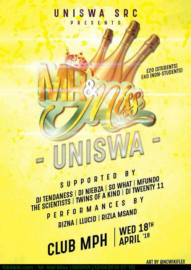 Mr And Miss UNISWA