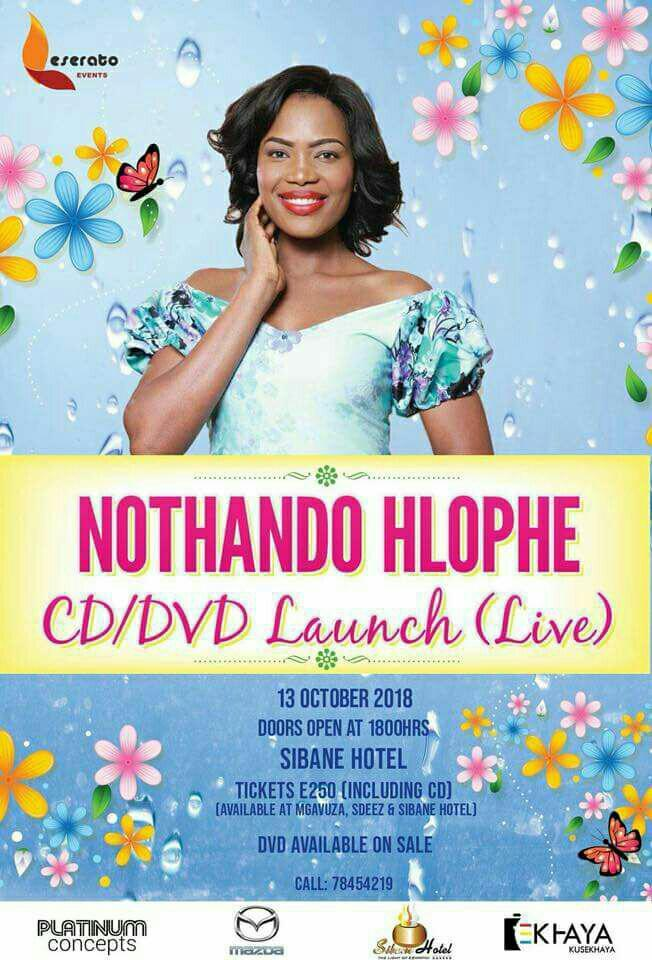 Nothando Hlophe CD DVD Laugh Live
