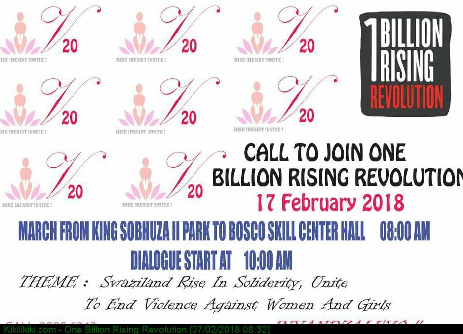 One Billion Rising Revolution