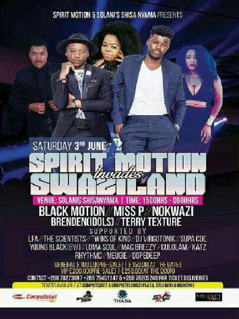 Spirit Motion Invades Swaziland Pic