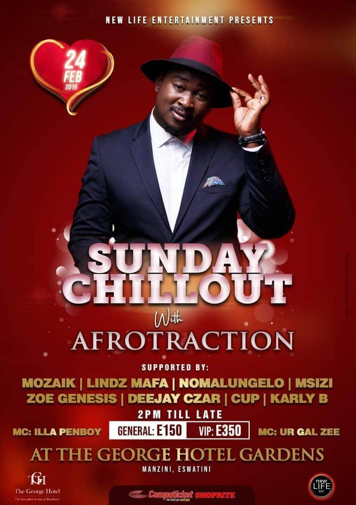 Sunday Chillout With Afrotraction