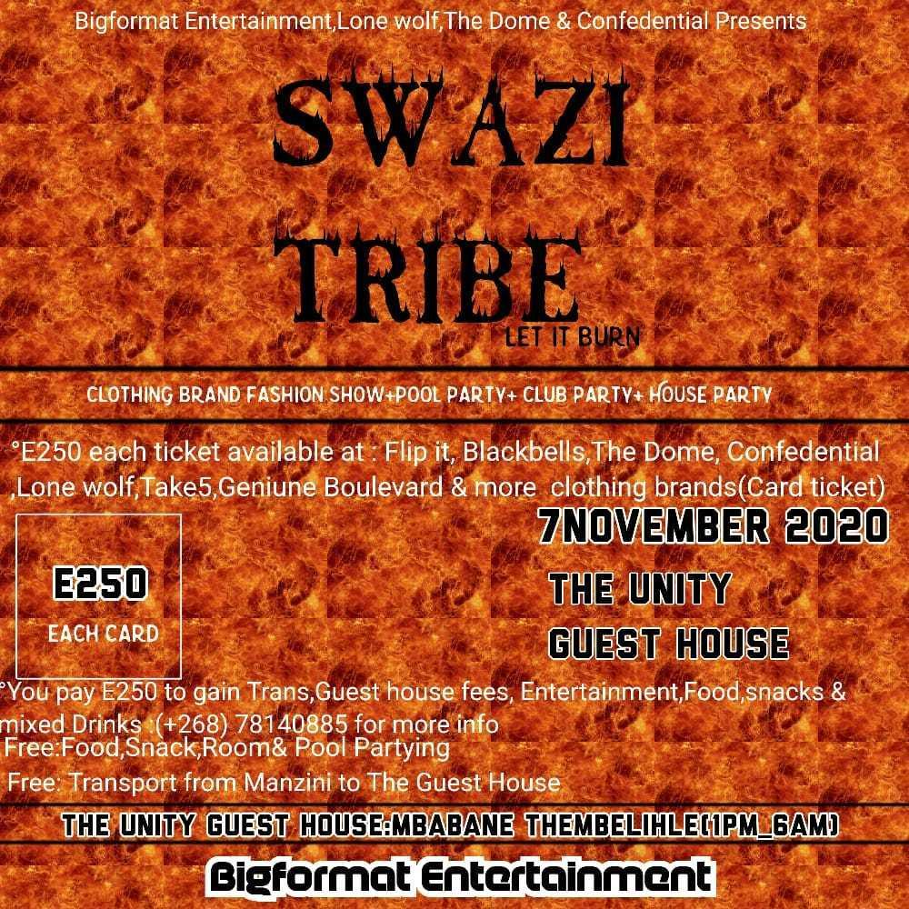 Swazi Tribe - Let It Burn Pic
