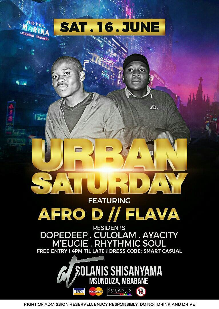 Urban Saturday Ft Afro D And LFA