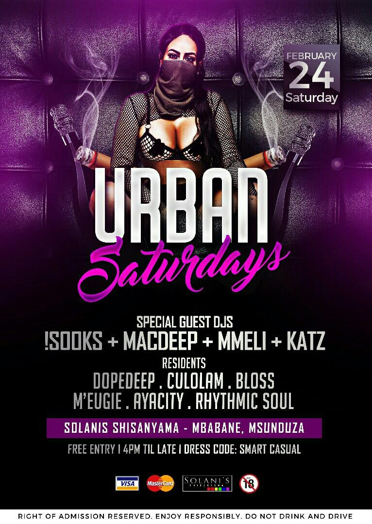 Urban Saturdays 1
