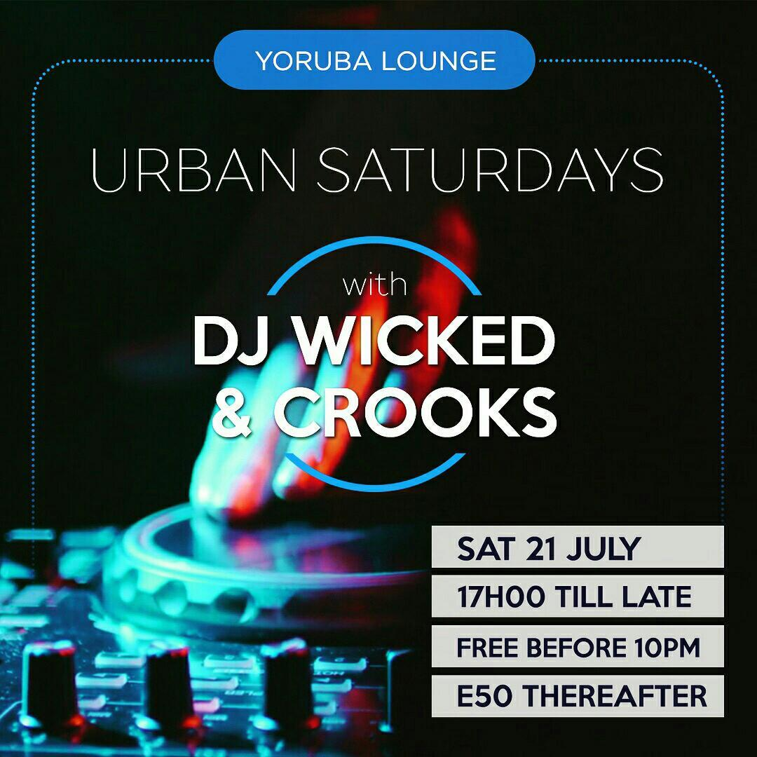 Urban Saturdays With DJ Wicked