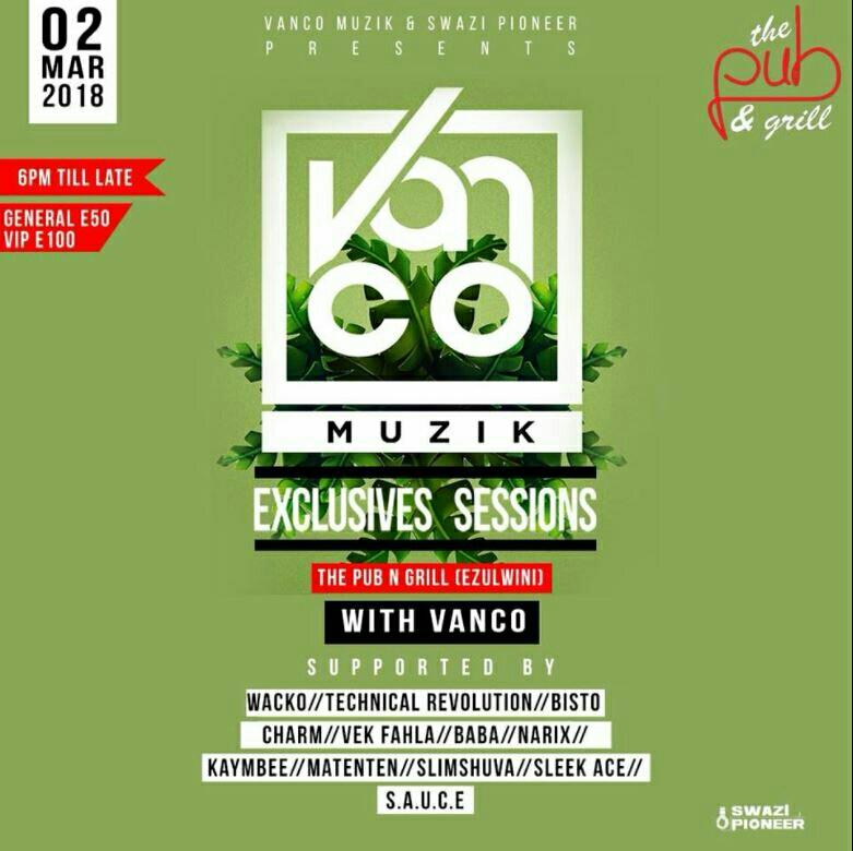 VANCO Muzik Exclusive Sessions