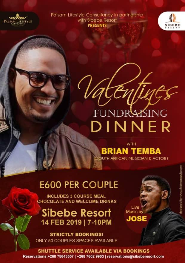 Valentines Fund Raising Dinner