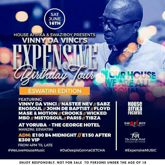 Vinny Da Vincis Expensive Birthday Tour