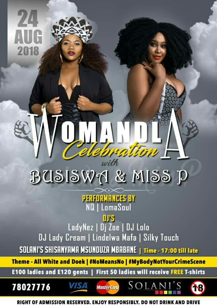 Womandla Celebration With Busiswa And MissP