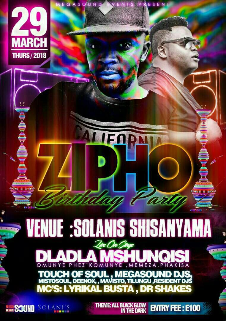 Zipho Birthday Party