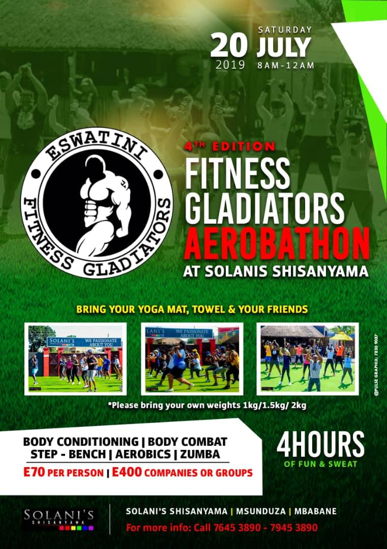 4th Edition Fitness Gladiators Aerobathon Pic