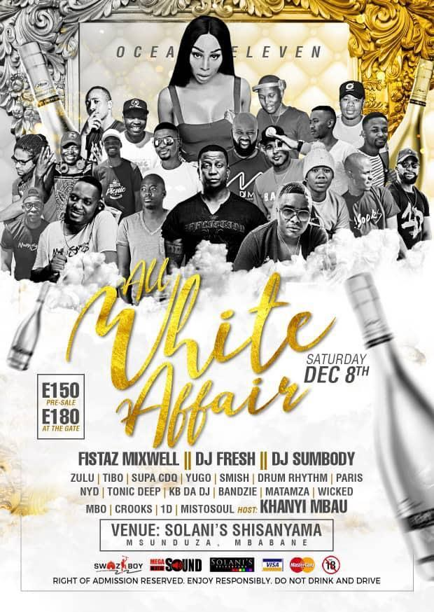 All White Affair With Fistaz Mixwell - DJ Fresh - DJ Sumbody