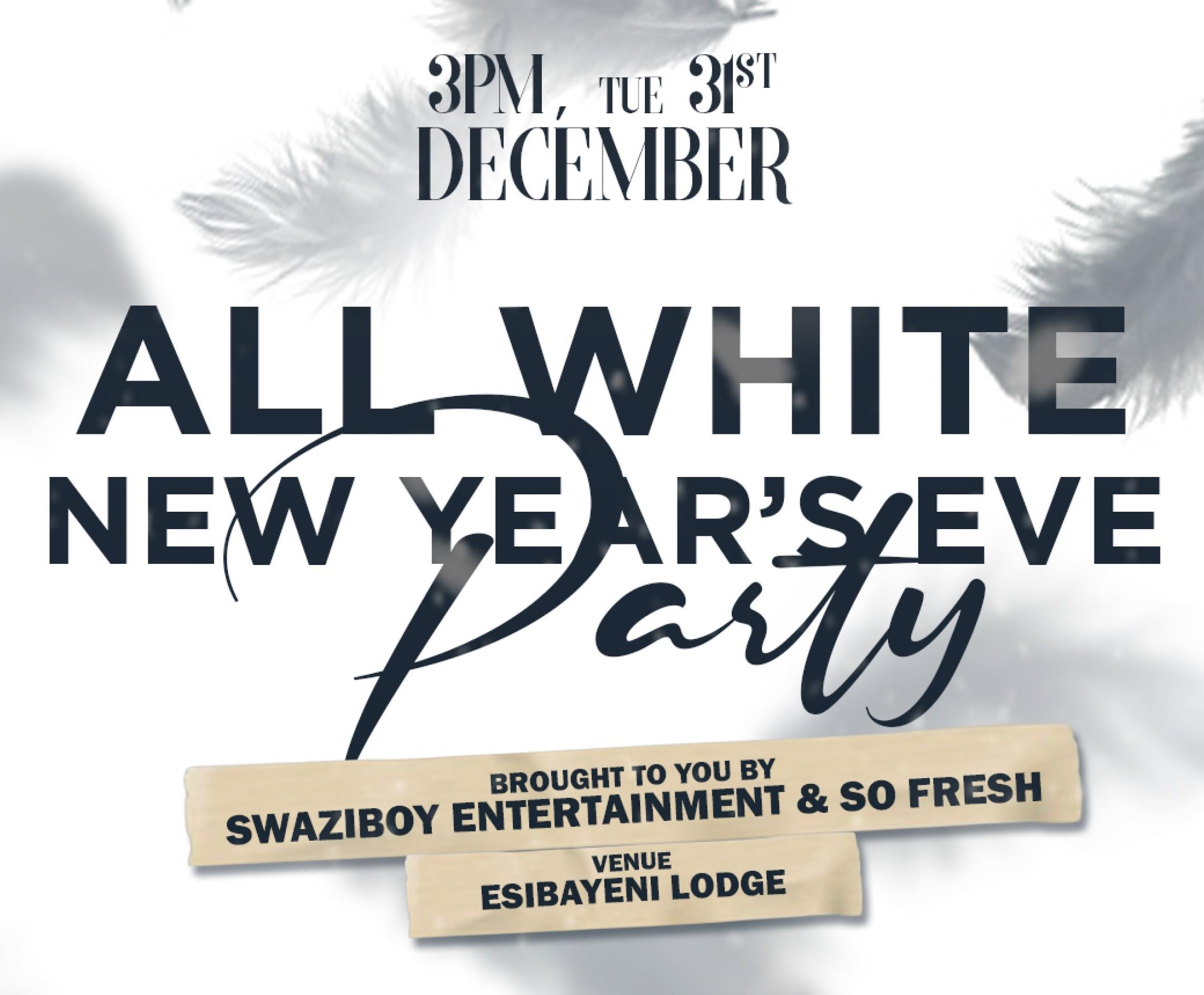 All White New Years Eve Party