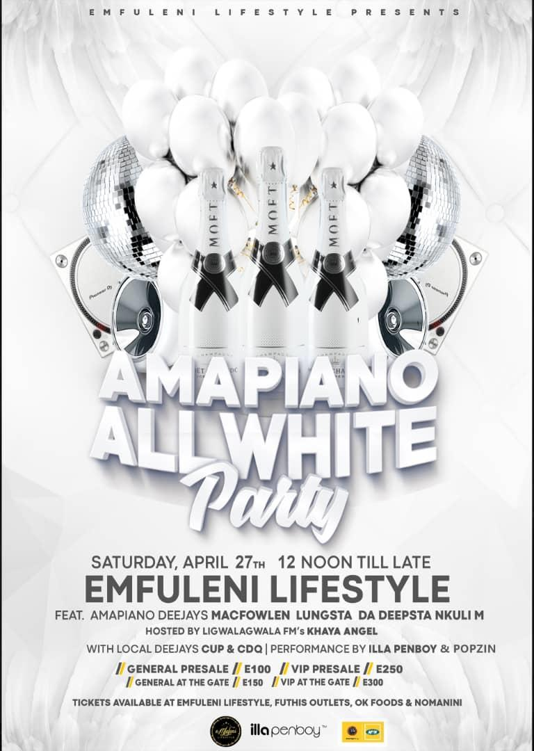 AmaPiano All White Party