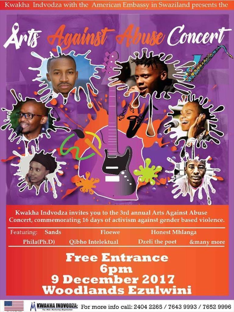 Arts Against Abuse Concert