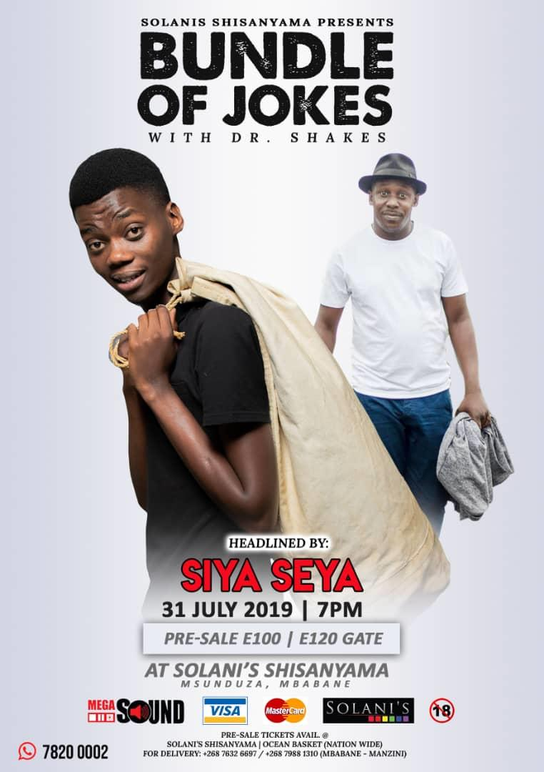 Bundle of Jokes with Dr Shakes Headlined By Siya Seya Pic