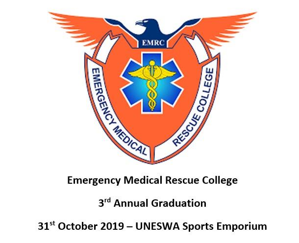 Emergency Medical Rescue College 3rd Annual Graduation