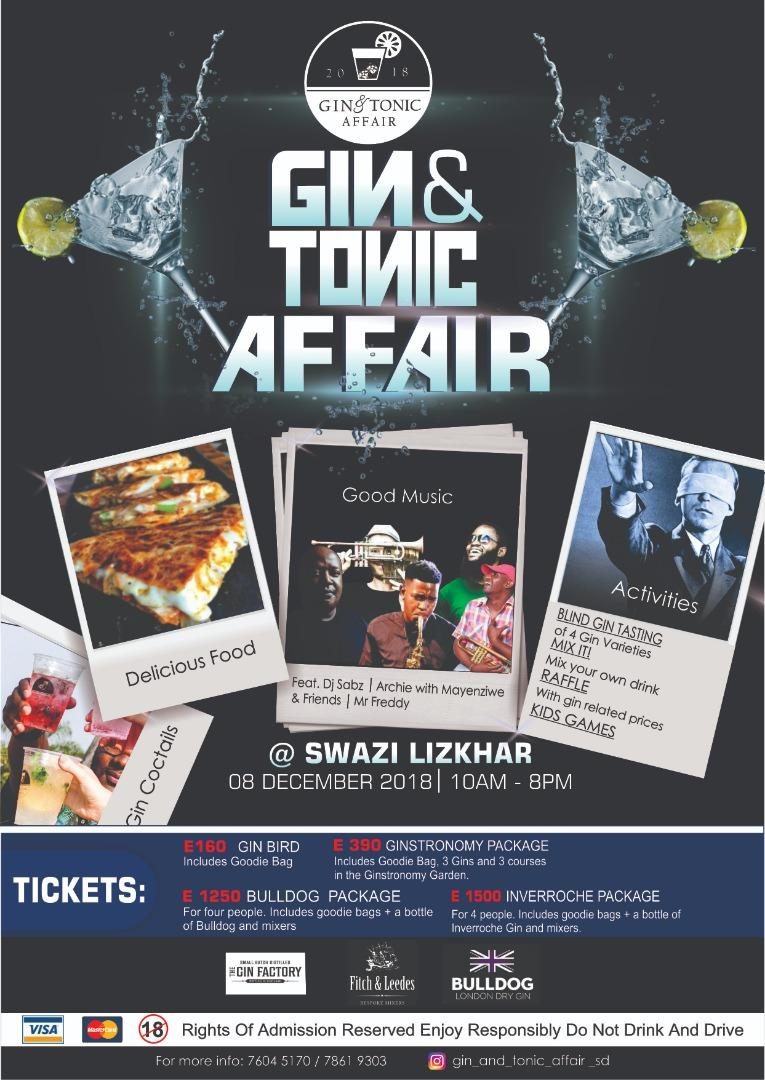 Eswatini Gin and Tonic Affair 2018
